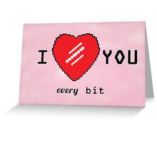I Love You Greeting Card Greeting Card