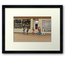 Sylvia, you simply MUST stop referring to our photo group as a flash mob!! Framed Print