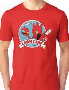 Scizor Lawn Care Red Shirt Unisex T-Shirt