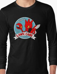 Scizor's Lawn Care Black Shirt Long Sleeve T-Shirt
