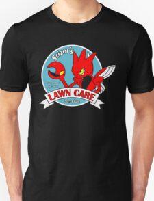 Scizor's Lawn Care Black Shirt Unisex T-Shirt