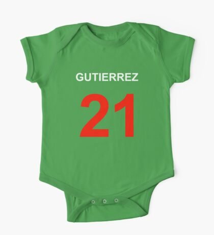 Gutierrez 21 One Piece - Short Sleeve