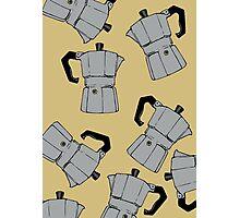 coffeepot pattern Photographic Print