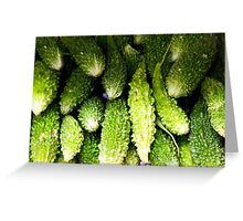 Karela Greeting Card