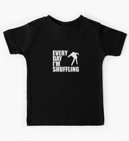 Everyday I'm shuffling. Kids Tee