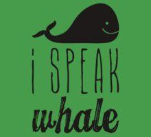 I Speak Whale One Piece - Short Sleeve