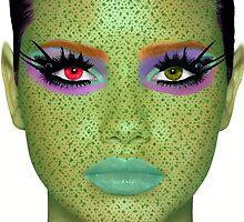 Alien queen by Brontata