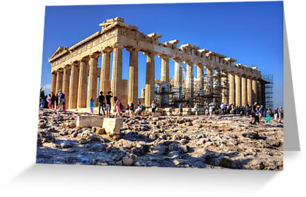 Athenian Temple by Tom Gomez
