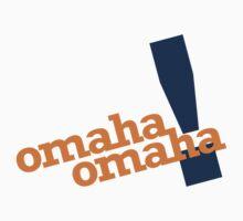 Omaha Omaha (Payton Manning Broncos Tee) by typeo