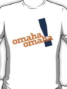 Omaha Omaha (Payton Manning Broncos Tee) T-Shirt