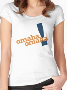 Omaha Omaha (Payton Manning Broncos Tee) Women's Fitted Scoop T-Shirt