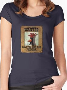 Have you seen this Chicken? Women's Fitted Scoop T-Shirt