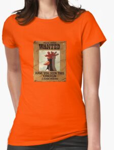 Have you seen this Chicken? Womens Fitted T-Shirt