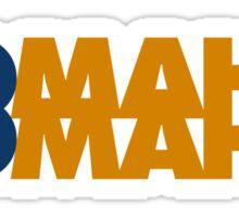 Omaha Omaha (Payton Manning #18 Tee) Sticker