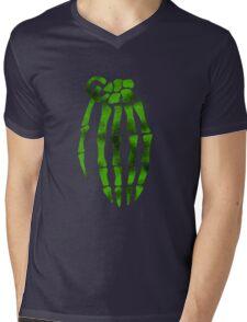 jesse pinkman skeleton hand  Mens V-Neck T-Shirt