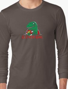 clever girl, jurassic Long Sleeve T-Shirt