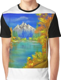 Autumn Retreat Graphic T-Shirt