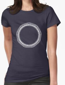 The Stargate Womens Fitted T-Shirt