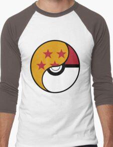 Dragon Ball x Pokemon Men's Baseball ¾ T-Shirt