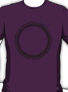 The Stargate black ink T-Shirt