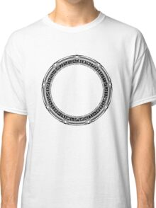 The Stargate black ink Classic T-Shirt
