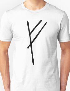 Gandalf's Mark on Bilbo's Door Unisex T-Shirt