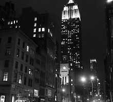 Empire State Building, New York by Raccoon-god