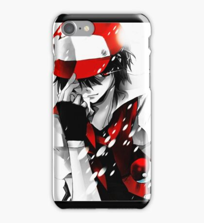 Pokemon Trainer Red iPhone Case/Skin