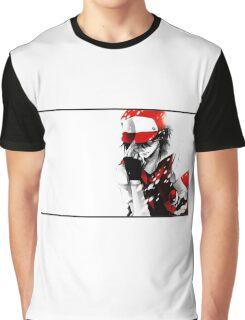 Pokemon Trainer Red Graphic T-Shirt