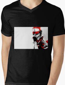 Pokemon Trainer Red Mens V-Neck T-Shirt