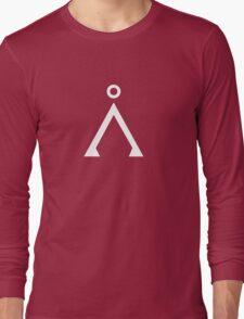 Stargate's Home Origin Symbol White Long Sleeve T-Shirt