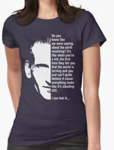 Ninth Doctor Season 1, Episode 1 Womens Fitted T-Shirt