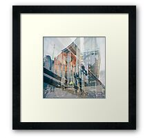Urban Traces Framed Print