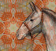 Horse & Indian symbols by Jorge H. Elias