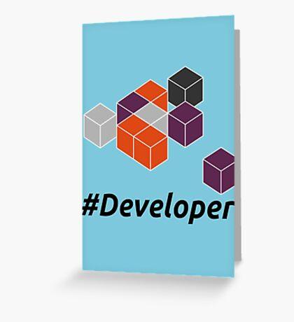 Developer Greeting Card