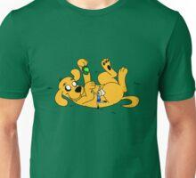 Big Yellow Dog Unisex T-Shirt