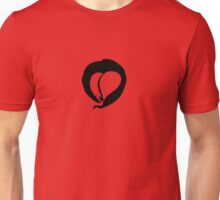 Ink Heart in Red Unisex T-Shirt