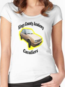 KCA Cavaliers Yellow Women's Fitted Scoop T-Shirt