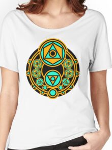GeoCoin Color V2 Women's Relaxed Fit T-Shirt