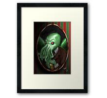 Portrait of Cthulhu Framed Print