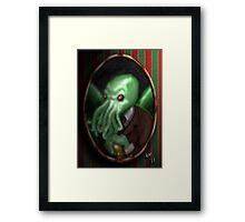Portrait of Cthulhu Framed Print