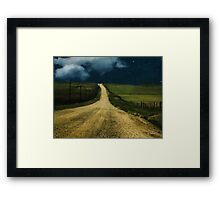 Ribbon of Road Framed Print