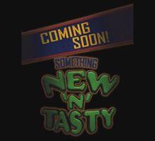New 'N' Tasty! by Christian Clarke