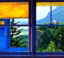 WINDOW ON THE GORGE by johnlegry