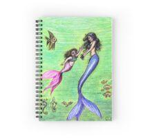Mermommy Spiral Notebook