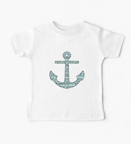 Tribal Anchor Baby Tee