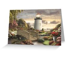 THE LIGHTHOUSE COLLECTION - AVA LARSEN Greeting Card