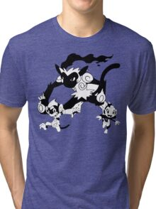 Chimchar Evolution Line Tri-blend T-Shirt