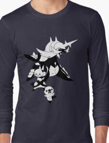 Oshawott Evolution Line Long Sleeve T-Shirt