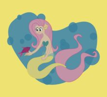 My Little Mermaid: Fluttershy by Samantha Root